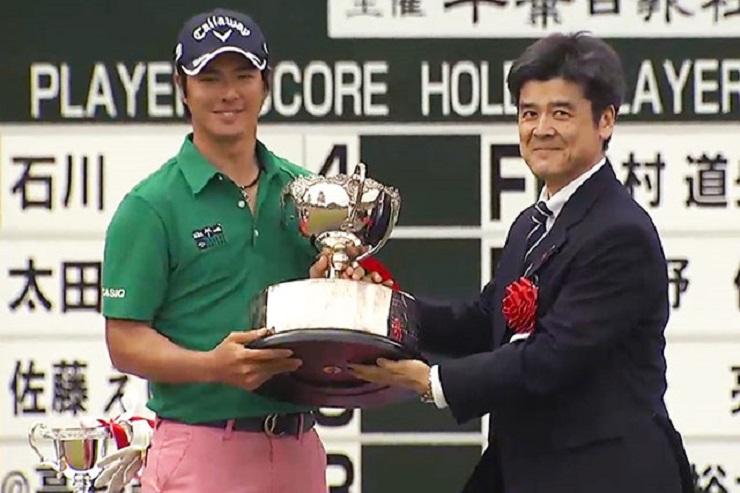 ゴルフ 石川遼 千葉オープン優勝