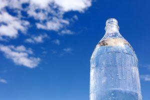 ゴルフ 熱中症予防コースラウンド中の水分補給