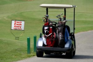 ゴルフ乗用カート