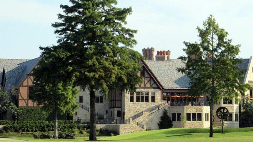 ゴルフ場のクラブハウス