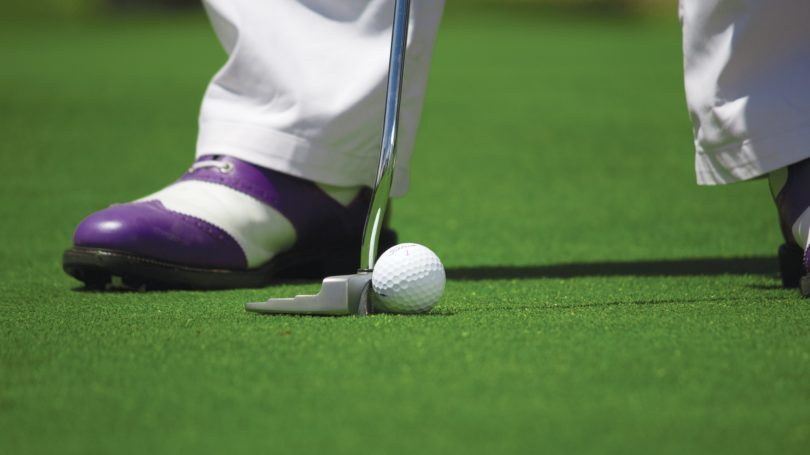 ゴルフのパッティング