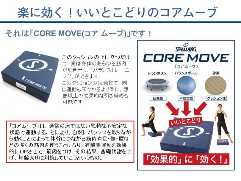 CORE MOVE(コアムーブ)