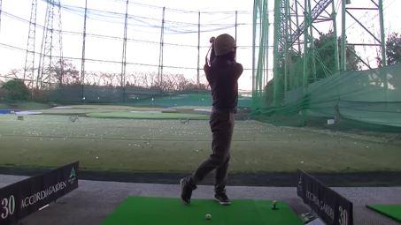 ゴルフ フィニッシュ