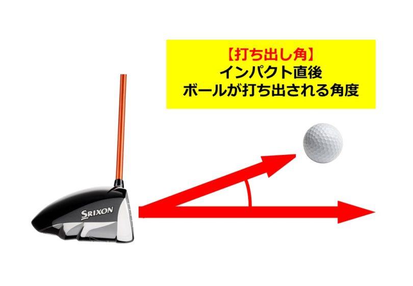 ゴルフ 打ち出し角