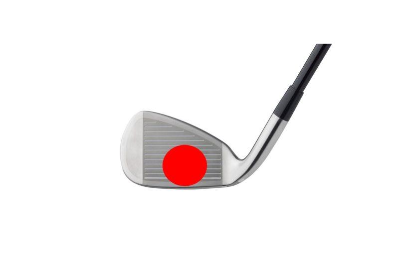ゴルフ クラブヘッドのスウィートスポット