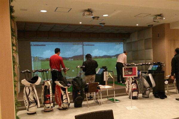 ゴルフ インドアゴルフ練習場