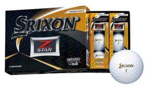 ゴルフボール SRIXON Z-STARシリーズ2019
