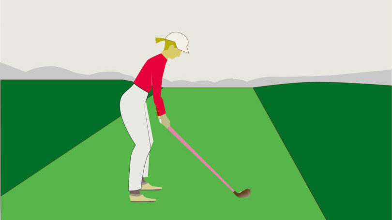 ゴルフ 良い姿勢