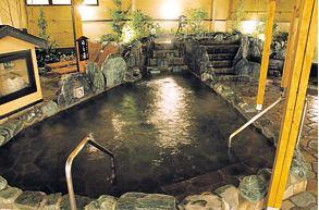 川越温泉 露天風呂