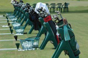 ゴルフ場 練習場