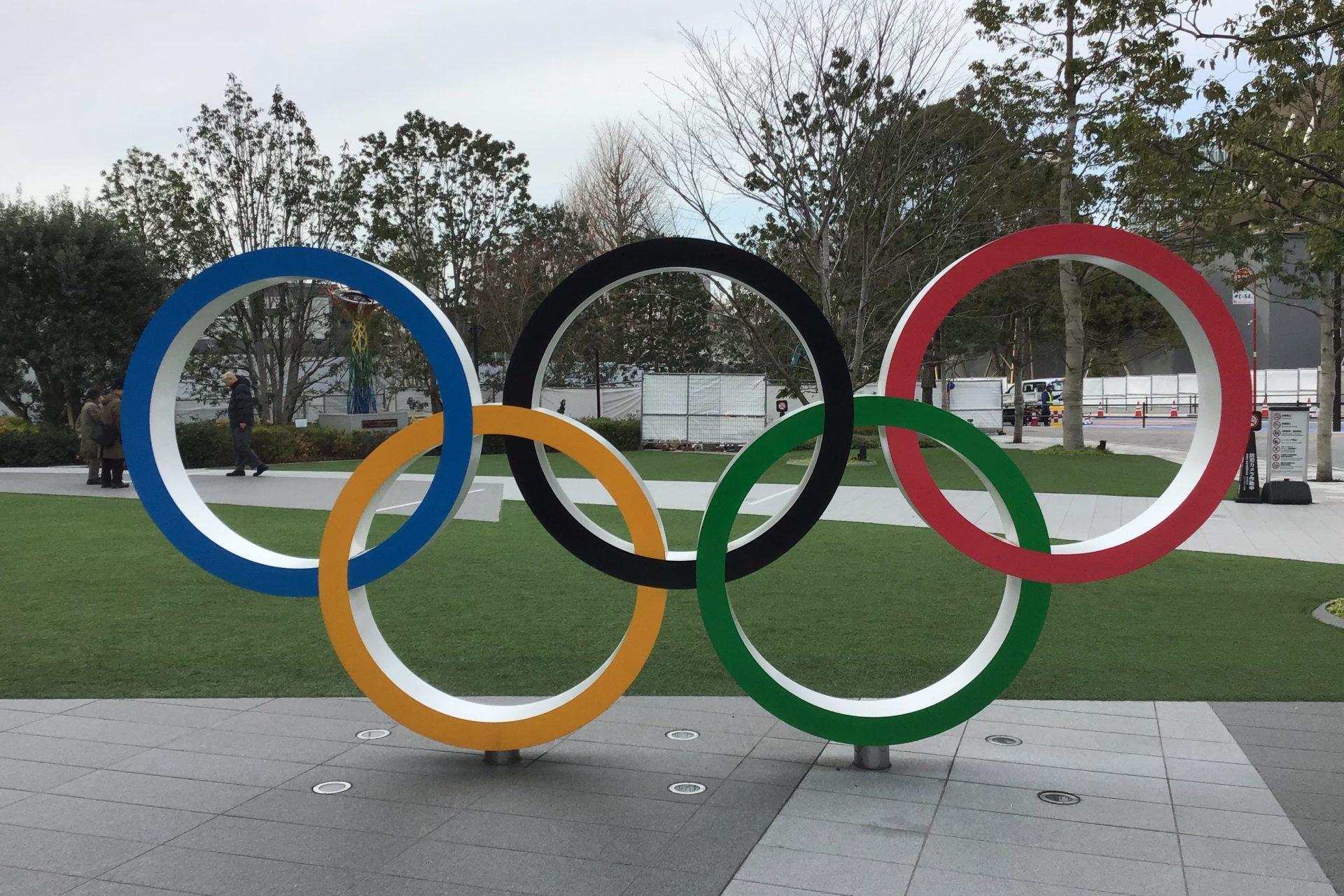 日本オリンピックミュージアム オリンピックロゴ