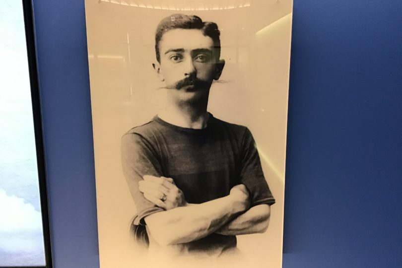近代オリンピック創始者 ピエール・ド・クーベルタン