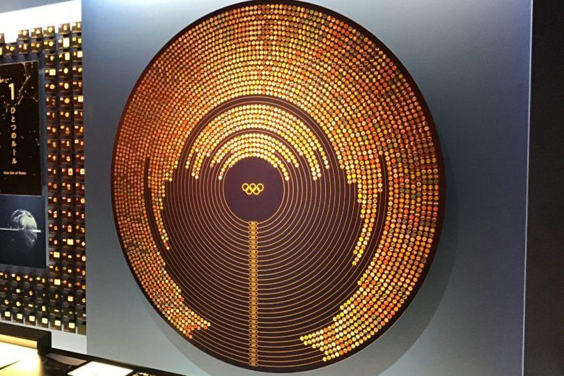 日本オリンピックミュージアム 世界とオリンピック 展示物