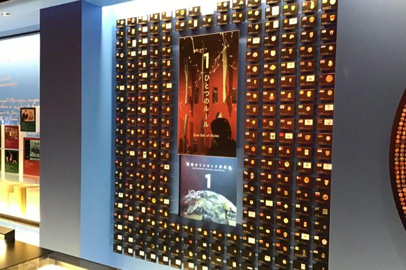 日本オリンピックミュージアム 世界とオリンピックの展示物