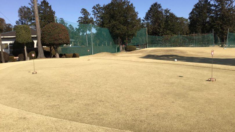 芦刈ゴルフクラブのスタンドピン