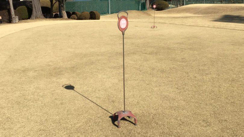 ゴルフ スタンドピン