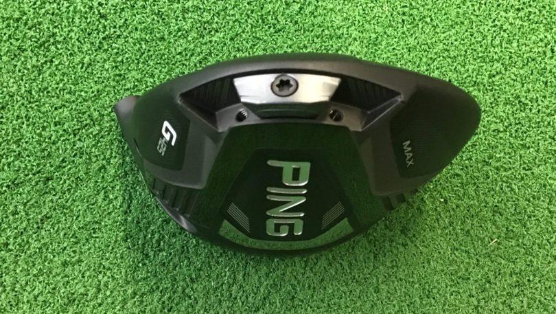PING(ピン)G425ドライバー MAXヘッド バックフェース