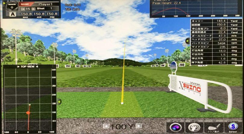 SKYTRAK PC版の画面
