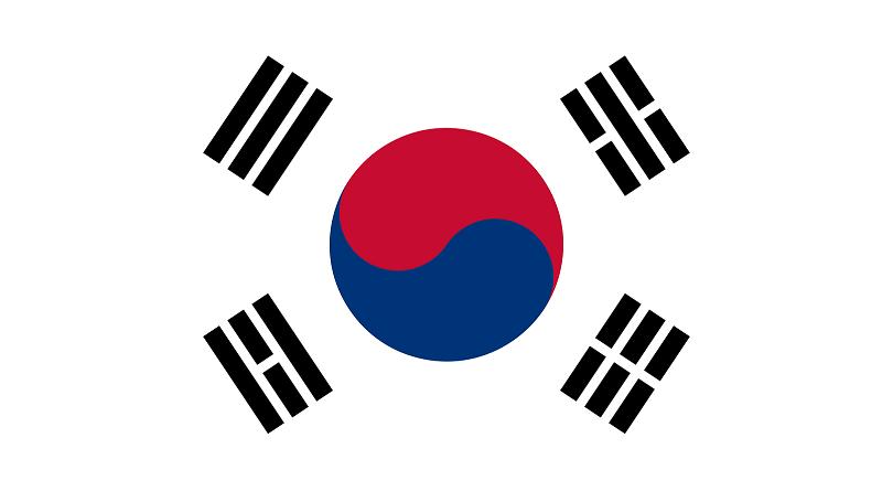 ゴルフ 韓国国旗
