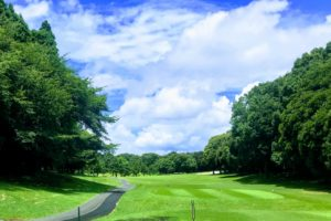 夏のゴルフ場